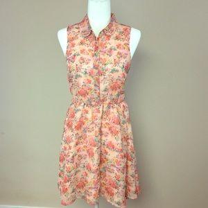 Lauren Conrad Size 4 Sheath Floral Dress